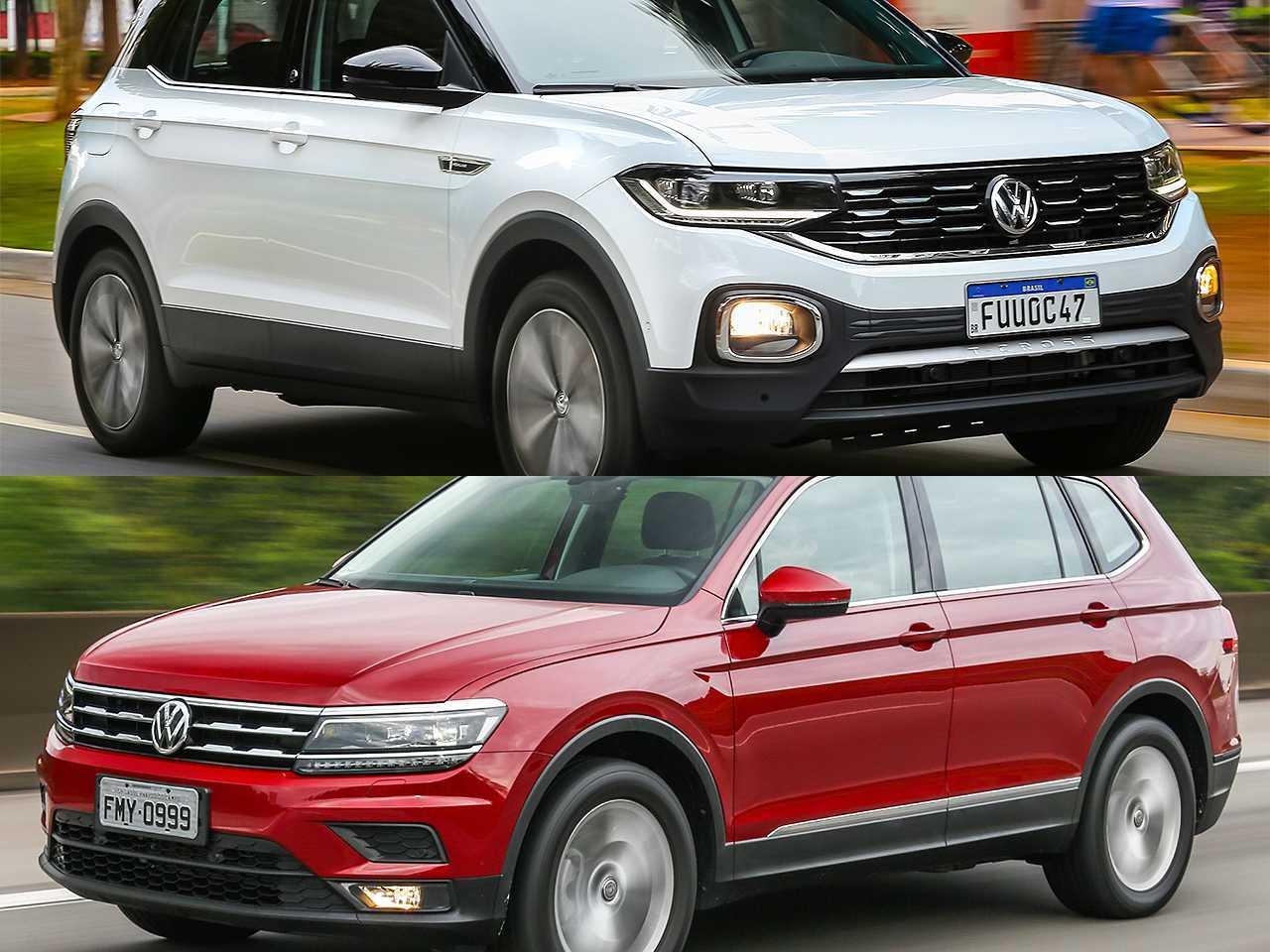 Volkswagen T-Cross e Tiguan Allspace