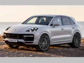 Projeções antecipam o novo Porsche Cayenne 2022