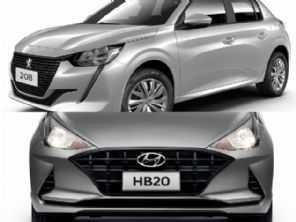 Peugeot 208 Like Pack manual ou um Hyundai HB20 Vision 1.6 automático?
