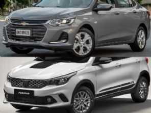 Para encarar ruas esburacadas: Fiat Argo Trekking ou um Chevrolet Onix Plus?