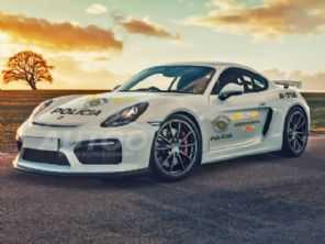 Porsche Cayman aprendido será viatura da Polícia Rodoviária em São Paulo