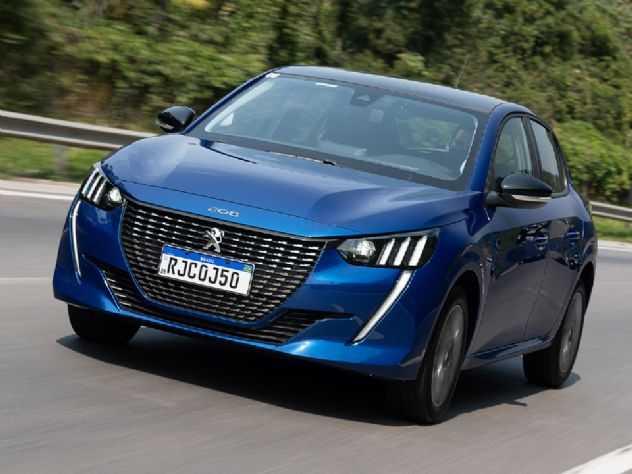 Peugeot 208 sofre reajuste no preço