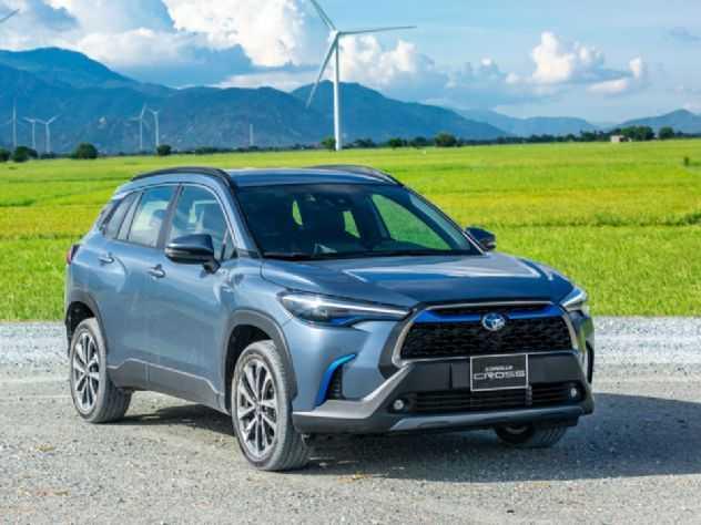 Quantos SUVs Corolla Cross a Toyota venderá em 2021?
