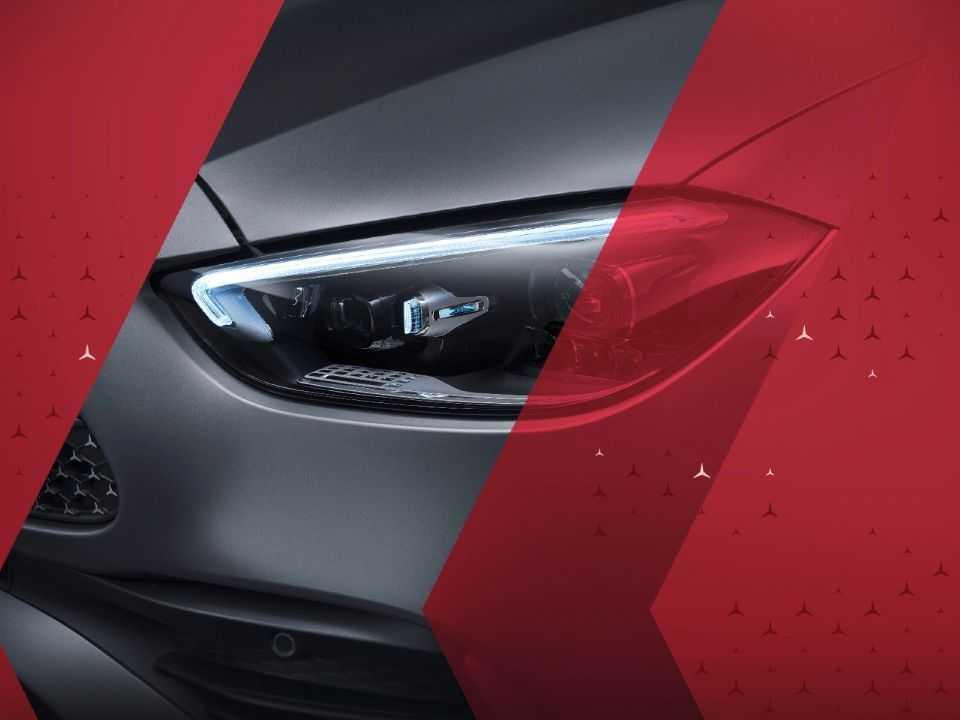 Teaser antecipa nova geração do Mercedes-Benz Classe C