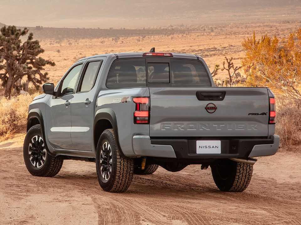 Nissan Frontier 2022 para o mercado dos EUA