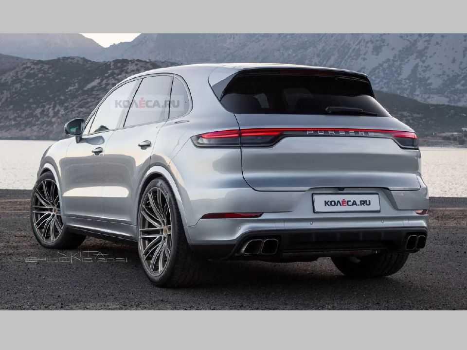 Projeção antecipa novo Porsche Cayenne