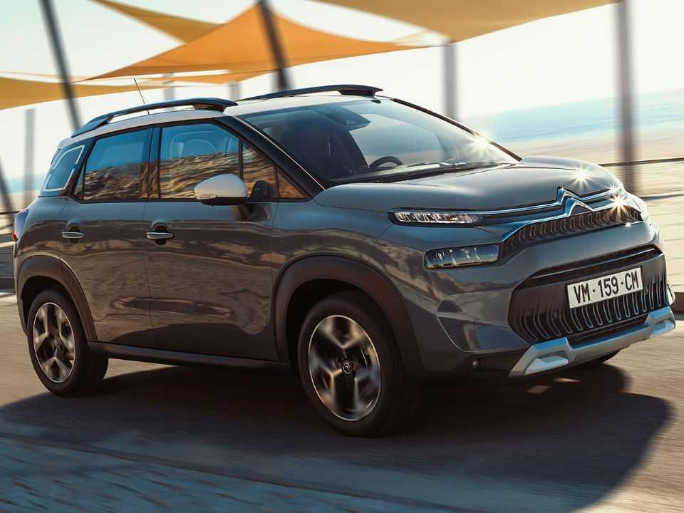 Acima o novo Citroën C3 Aircross europeu