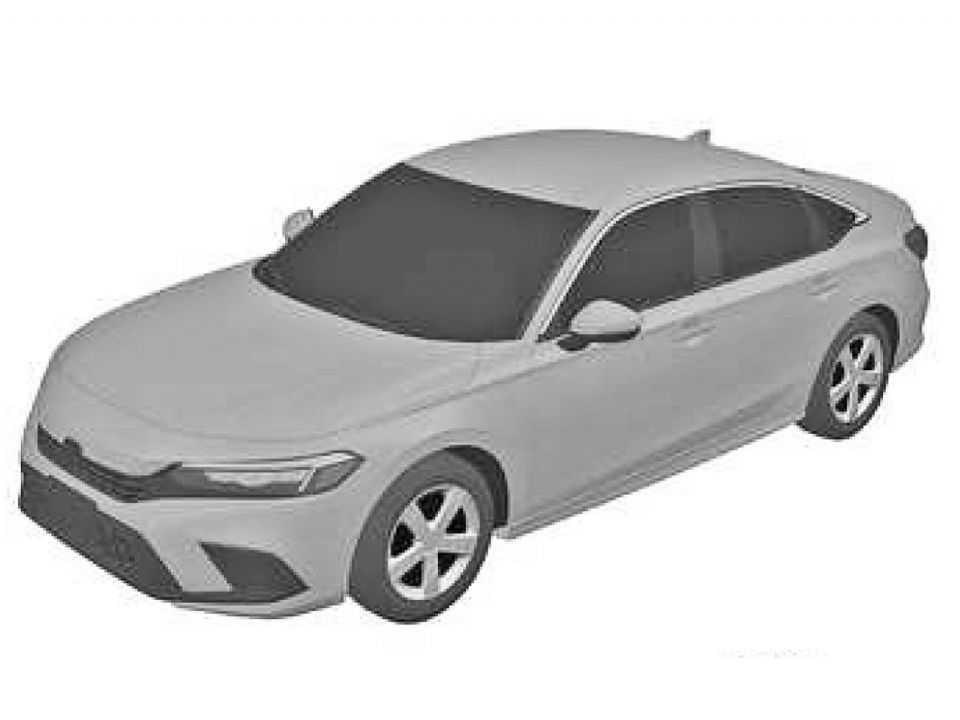 O novo Honda Civic agora registrado por inteiro no INPI
