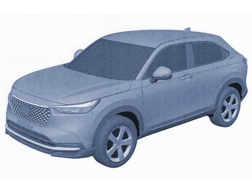 Novo Honda HR-V 2022 em imagem de patente