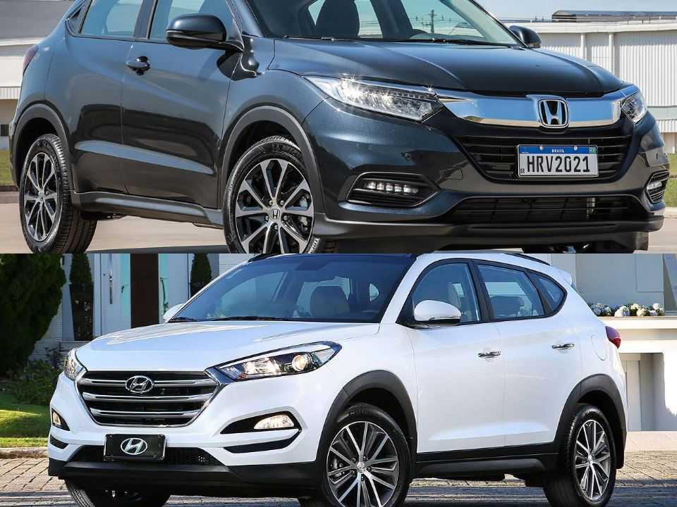 Honda HR-V e Hyundai New Tucson