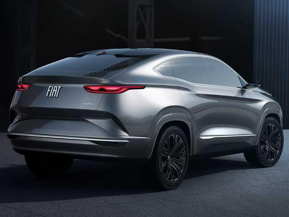 Conceito Fastback: estilo arrojado para o futuro SUV médio da Fiat se diferenciar do Jeep Compass