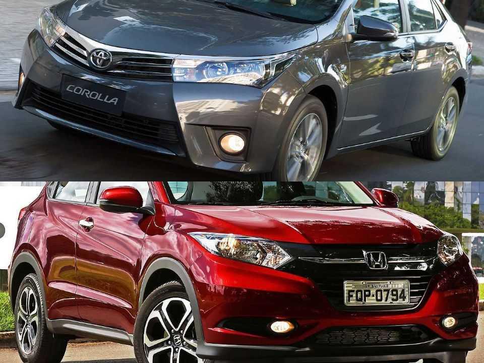 Toyota Corolla e Honda HR-V