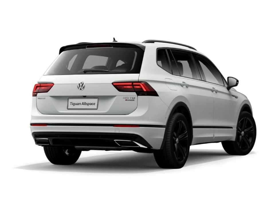 Volkswagen Tiguan Allspace 2021 com o pacote opcional Black Style