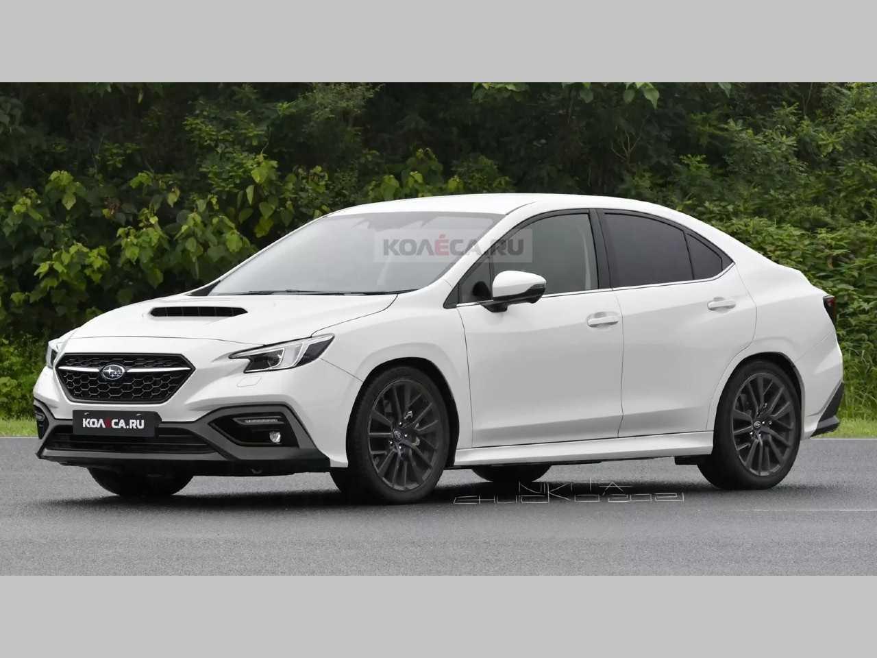 Projeção antecipa o Subaru WRX 2022