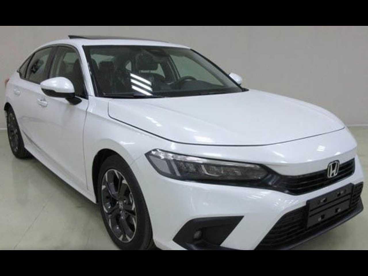 Flagra do novo Honda Civic 2022 sem disfarces