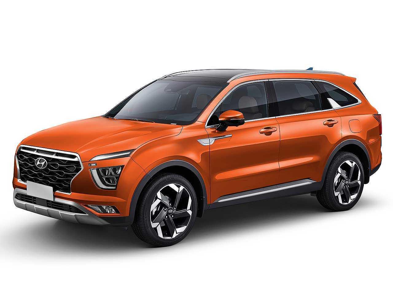 Projeção de Kleber Silva para o futuro Hyundai Alcazar