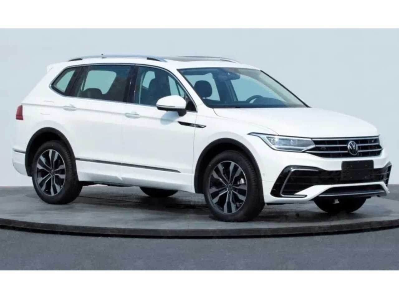 Foto mostra registro do novo Volkswagen Tiguan Allspace na China