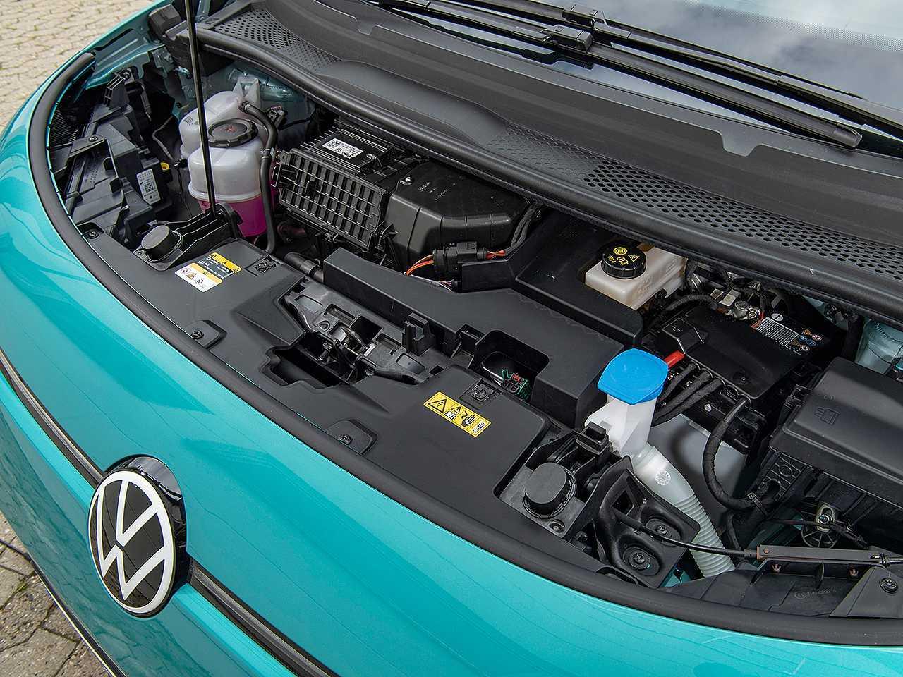 Detalhe do ID.3, atual elétrico mais acessível da Volkswagen
