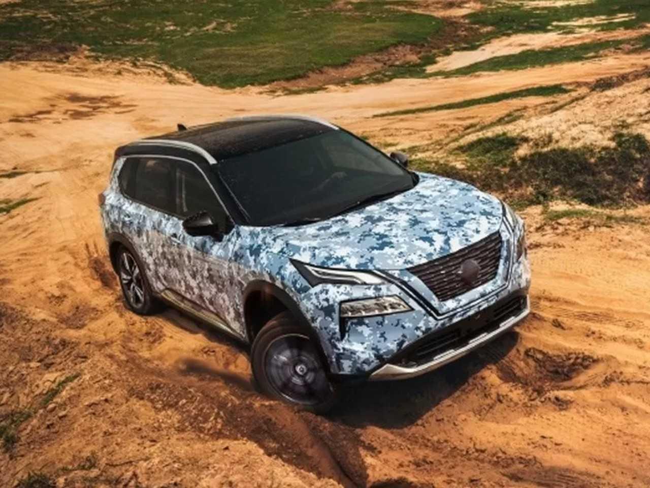 Novo Nissan X-Trail tem imagens antecipadas na China