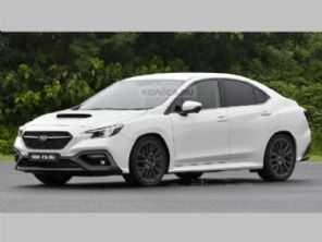 Novo Subaru WRX é antecipado por projeção