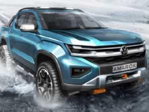 Imagem oficial da VW adianta nova geração da Amarok