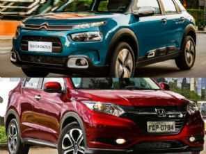 SUVs seminovos: C4 Cactus Shine Pack 2019 ou um HR-V EXL 2016?