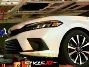 Honda Civic 2022: versões vazam e carro aparece em mais um flagra