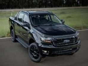 Lote promocional da nova Ford Ranger Black esgota em um dia