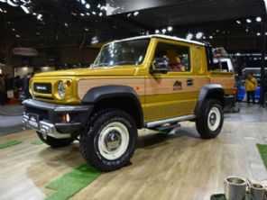 Suzuki Jimny: depois da versão 4 portas, picape pode estar nos planos