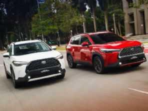 Mercado excêntrico: Toyota Corolla Cross seminovo está 24% mais caro