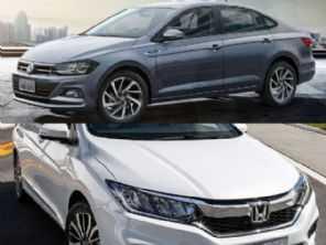 Seminovos até R$ 65.000: VW Virtus ou um Honda City?