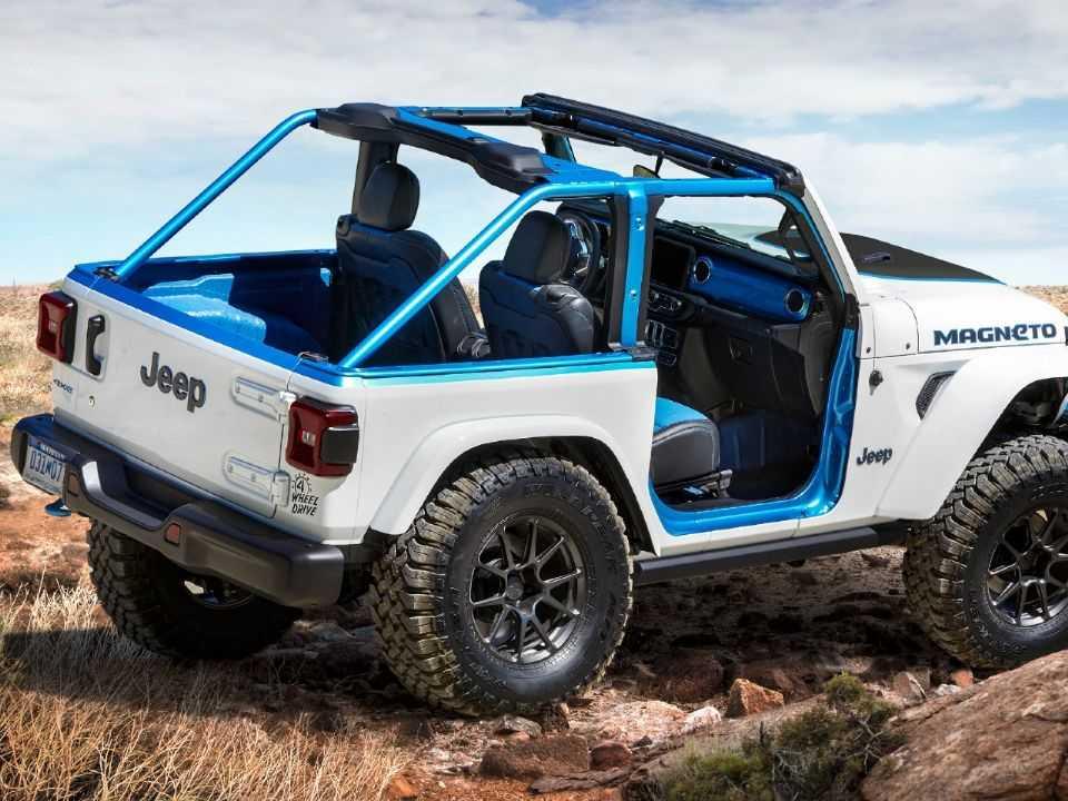 Jeep Wrangler Magneto conceito