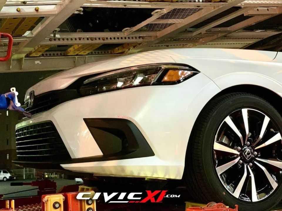 Flagra mostra o novo Honda Civic 2022