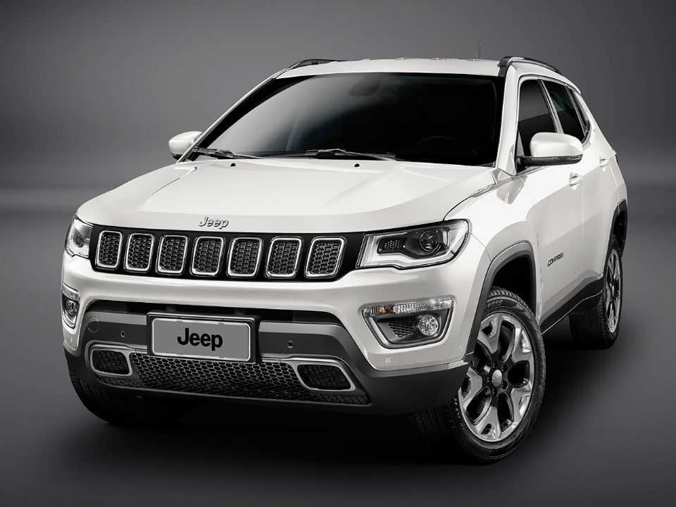 Jeep Compass em seu catálogo Longitude 2.0 turbodiesel