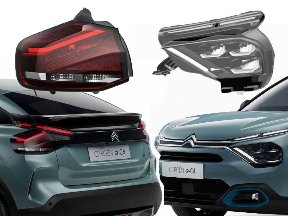 Citroën registrou peças do e-C4 no Brasil