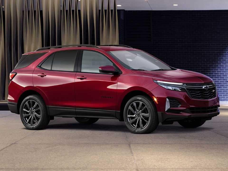 Acima o Chevrolet Equinox 2022 em sua versão RS