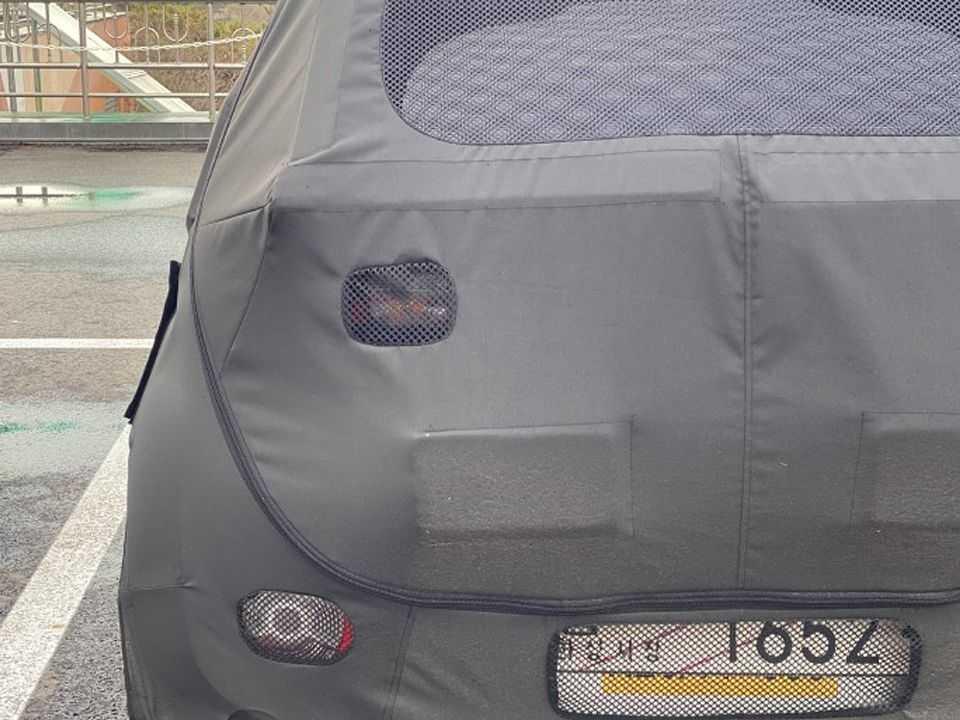 Flagra do projeto Hyundai AX1