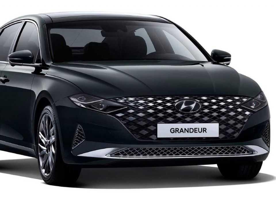 HyundaiAzera 2020 - ângulo frontal