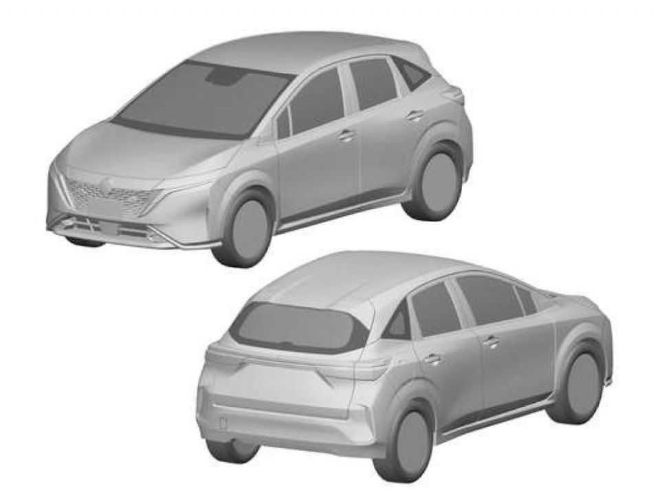 Pedido de patente no Brasil mostra o Nissan Note