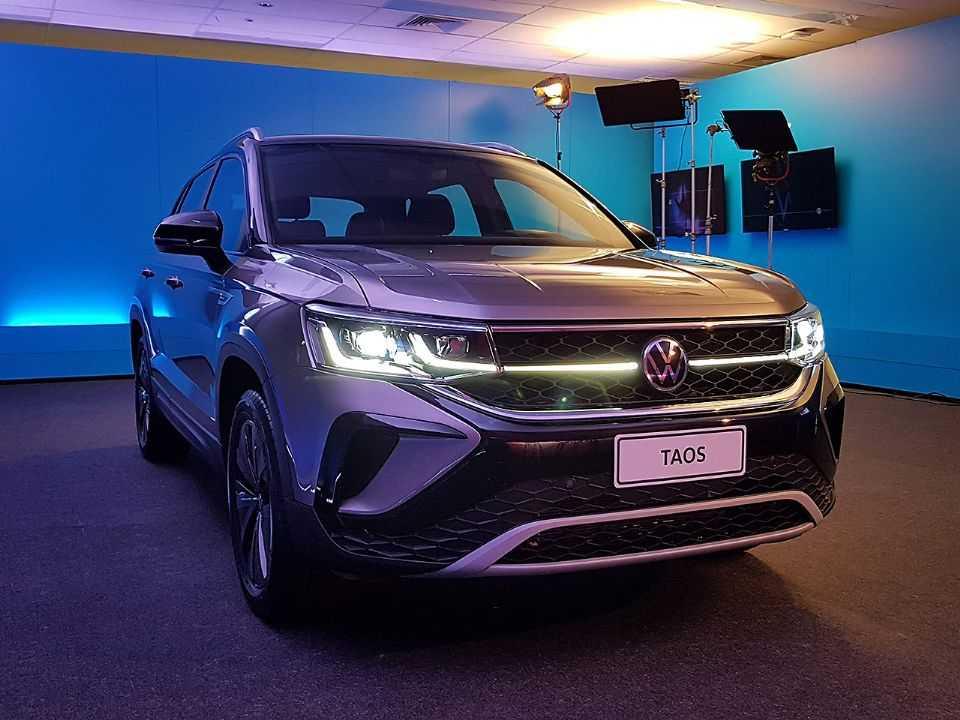 Volkswagen Taos estreia no Brasil no segundo trimestre de 2021