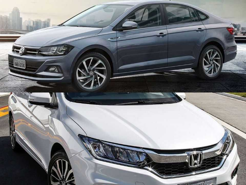 Volkswagen Virtus e Honda City