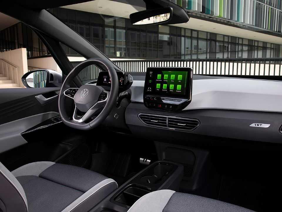 Interior do VW ID.3: elétricos oferecem cabines amplas e espaçosas