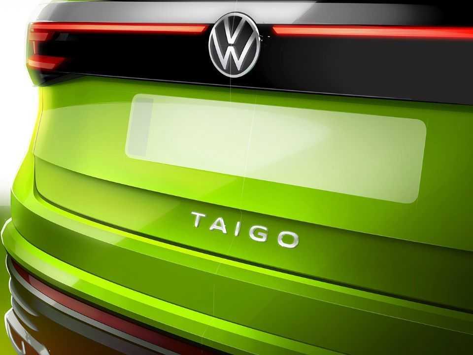 Esquete antecipando o VW Taigo, designação do Nivus para o mercado europeu