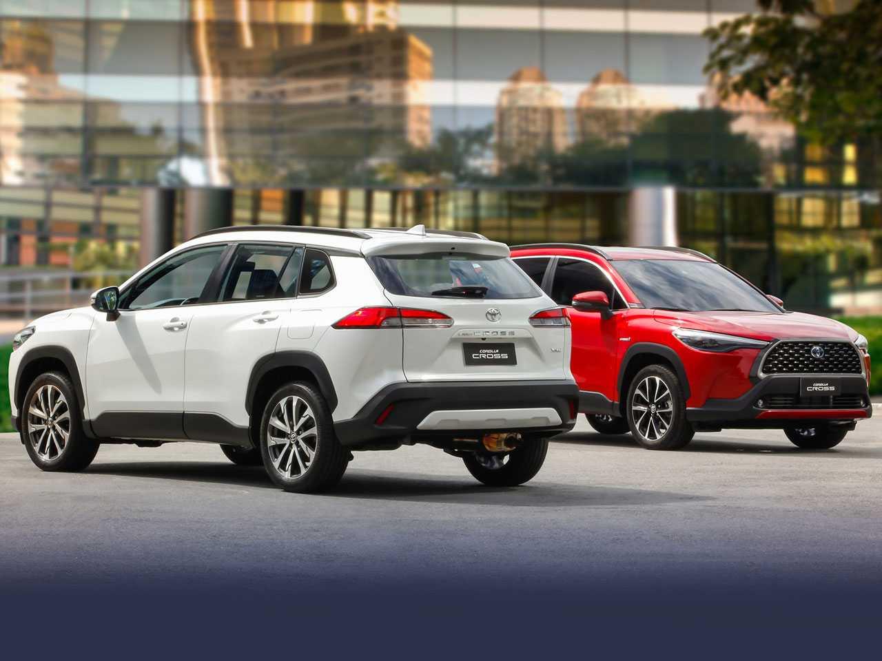 Toyota Corolla Cross: vendas começam devagar no Brasil