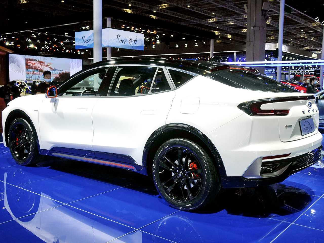 Ford Evos: uma das principais novidades do Salão de Xangai 2021