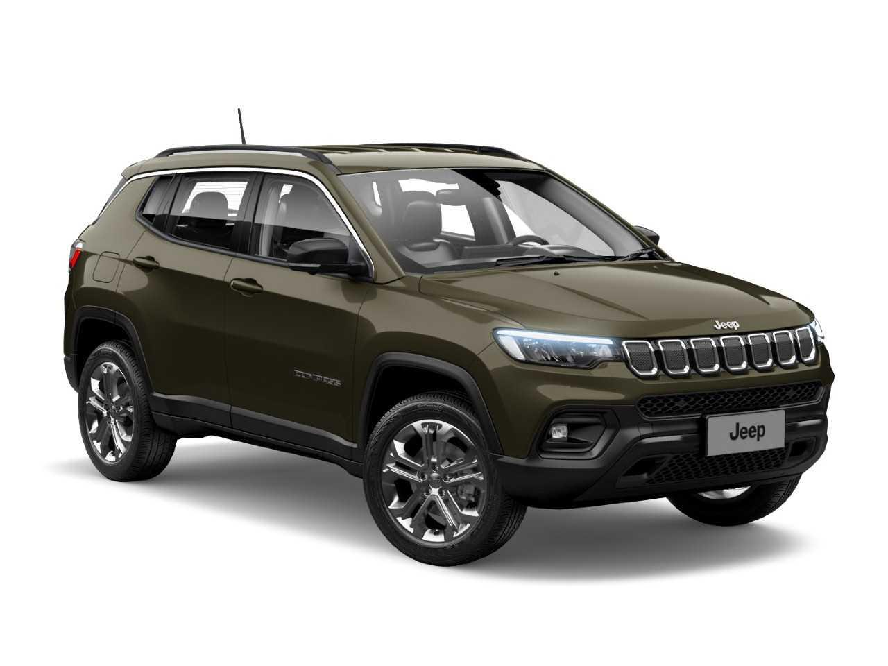 JeepCompass 2022 - ângulo frontal
