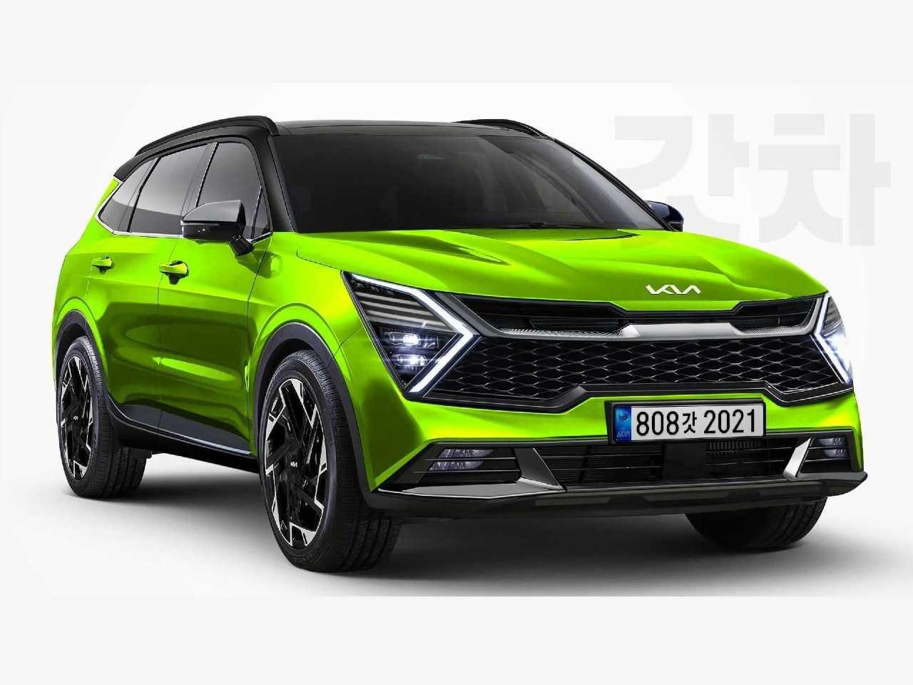 Projeção antecipa o novo Kia Sportage 2022