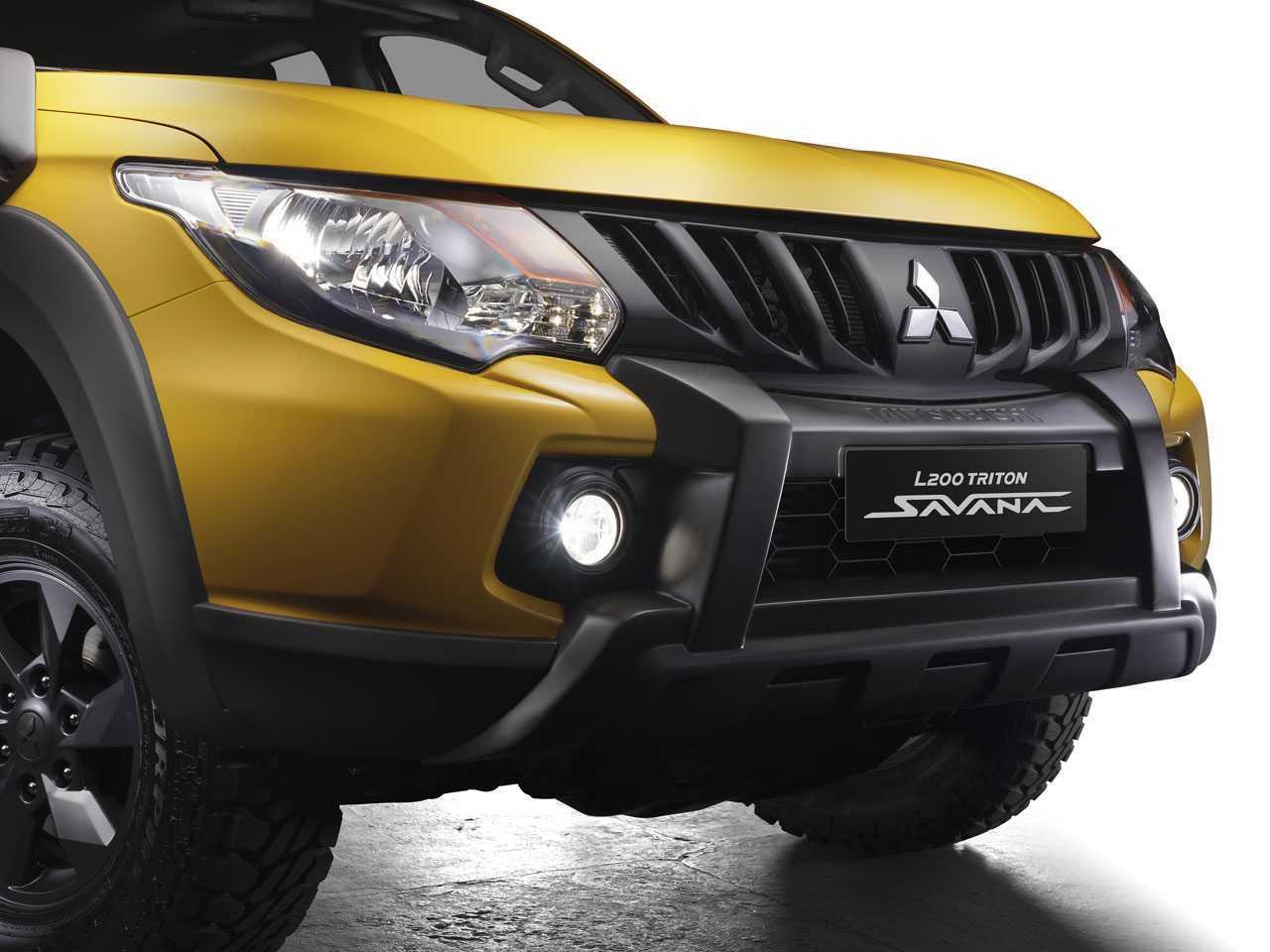 MitsubishiL200 Triton 2022 - grade frontal