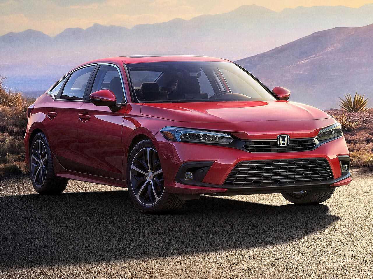 Primeira imagem oficial da nova geração do Honda Civic