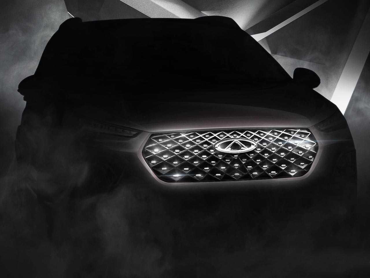 Primeiro teaser oficial do novo SUV da CAOA Chery: facelift do Tiggo 2 deve estrar no Brasil como Tiggo 3X Plus